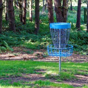 Корзина для диск-гольфа. Фото: pixabay.com.