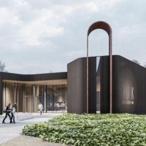 Эскиз здания Школы св. Иоанна Богослова. Автор/источник фото: SKAD.